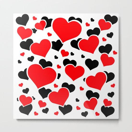 Hearts And Hearts Metal Print
