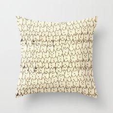 cat-8 Throw Pillow