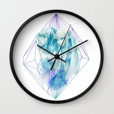 The Two Made One Wall Clock