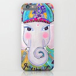 Jai Ganesha  iPhone Case