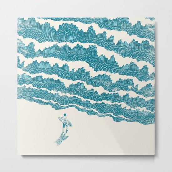 To the sea Metal Print