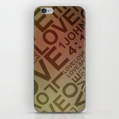 L O V E {II} iPhone & iPod Skin