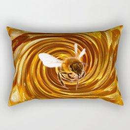 Honey Swirls Rectangular Pillow