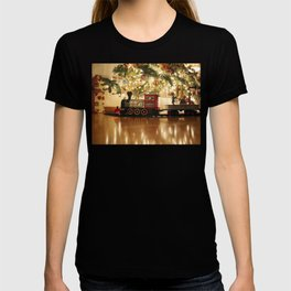 Christmas Tree and Train T-shirt