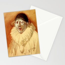 """""""The Grey Clown"""" by Gustave Doré Stationery Cards"""
