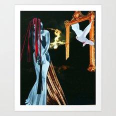 SHOTGUN WEDDING Art Print