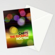 Carpe The Fucking Noctem Stationery Cards