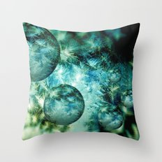 Mystery Worlds Throw Pillow