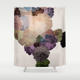 Florals // Pattern III Shower Curtain