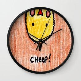 Cheep! Wall Clock