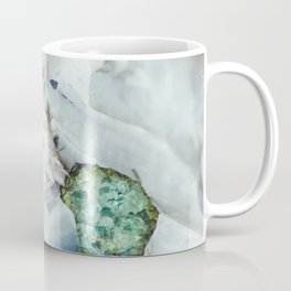 Colorful watermelon tourmaline crystal, macro #society6 Coffee Mug