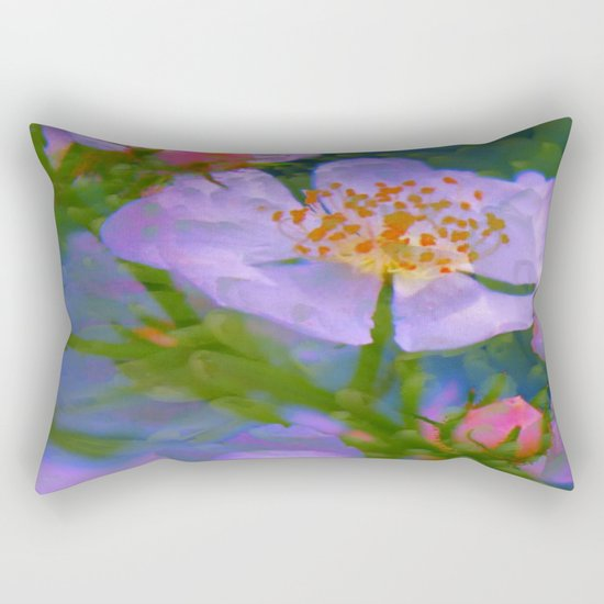 Intoxicating Beauty Rectangular Pillow