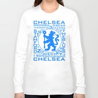 chelsea Long Sleeve T-shirts featuring Chelsea Mix by Sport_Designs