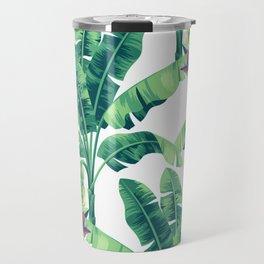 Banana leaf bloom II Travel Mug