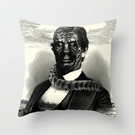 CATMAN Throw Pillow