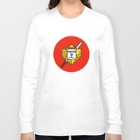 gryffindor Long Sleeve T-shirts featuring Gryffindor House Crest Icon by Manuja Waldia