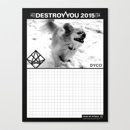 DYCO YEAR OF ATTACK  Canvas Print