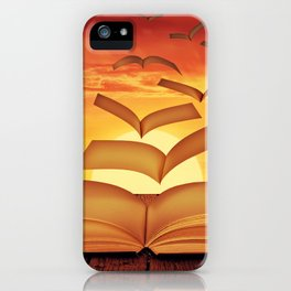 Escaped Thoughts iPhone Case