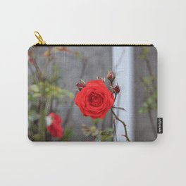 Red Orange Rose Carry-All Pouch