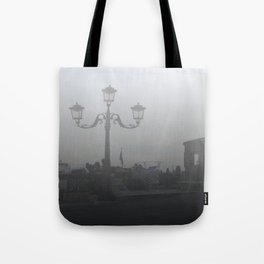 Street Light in Venice Tote Bag