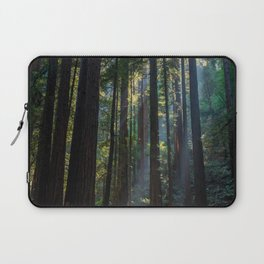 Red Woods & Sun Rays Laptop Sleeve