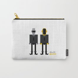 Pixel Daft Punk Carry-All Pouch