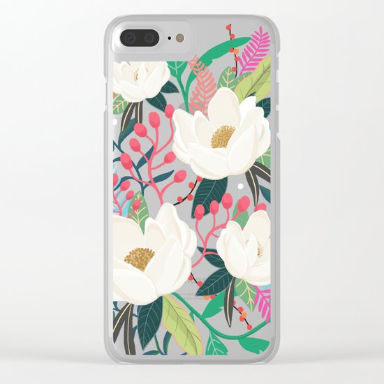 The Garden of Alice, flower, floral, blossom art print Clear iPhone Case