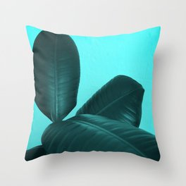 Ficus Elastica #3 #art #society6 Throw Pillow