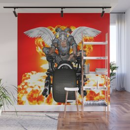 Biker of the Apocalypse-Conquest Wall Mural