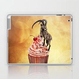 Unconquered Peak // goat cupcake Laptop & iPad Skin