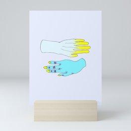 Digits Mini Art Print