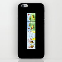 turtles iPhone & iPod Skins featuring Turtles by Bakal Evgeny