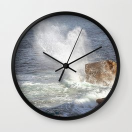 Wave Spray Western Australia Wall Clock