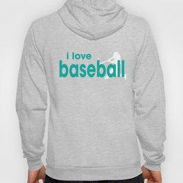 I Love Baseball Hoody