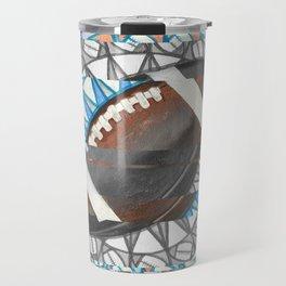 The perfect pass / American football Travel Mug