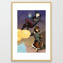 The Avatar and the Engineer Framed Art Print