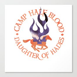 daughter of hades - cabin shirt Canvas Print