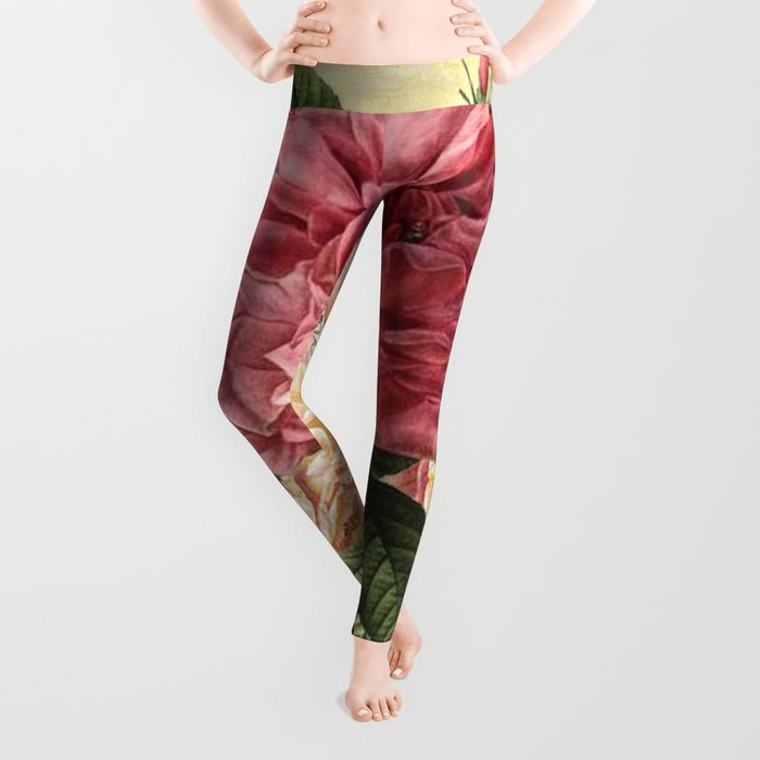 Vintage flowers #28 Leggings