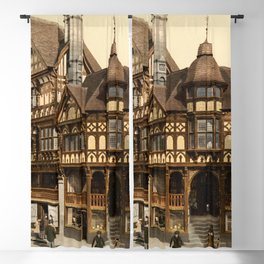The Cross and Rows 1895 Blackout Curtain