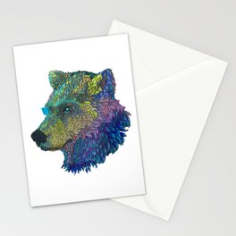 Space Bear! Stationery Cards