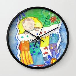Baby Boy Wall Clock
