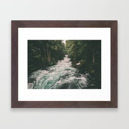 Mckenzie River Framed Art Print