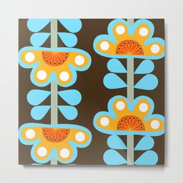 swedish flowers Metal Print