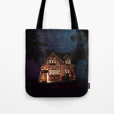C1.3D PAPERSHOPPE BY NIGHT Tote Bag