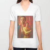 meme V-neck T-shirts featuring MEME 010 Oberyn Doran by mushroomtale