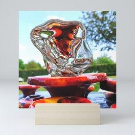 Water Sculpture in Kunsthaus-Lay Garden Mini Art Print