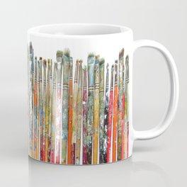 Twenty Years of Paintbrushes Coffee Mug