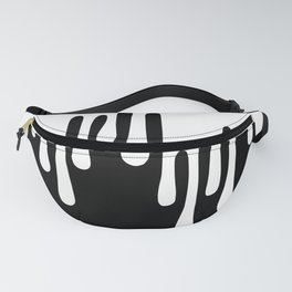 WHITE DRIPPING Fanny Pack