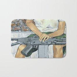 Child Soldier 2 Bath Mat