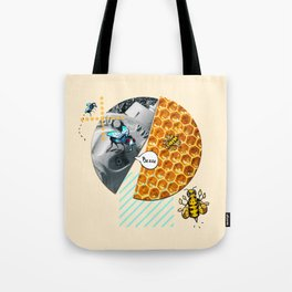 Bzzzing Around Tote Bag